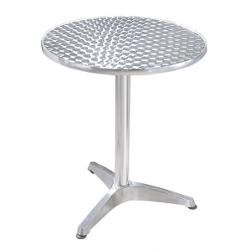 Table en aluminium
