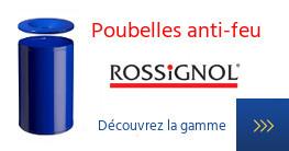 Poubelles Anti-feu Rossignol