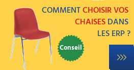 Chaise coque rouge