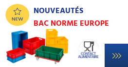 Bac couleur norme europe