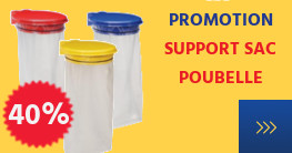 promotion support sac poubelle