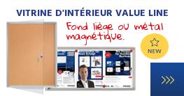 Vitrine d'intérieur Value Line