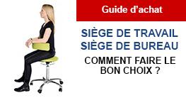 Choisir son siège : confort, bien-être et sécurité au travail