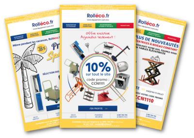 Exemples de newsletter Rolléco