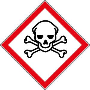 Pictogramme risques chimique-Produit qui empoissonne