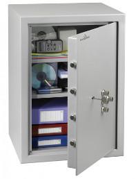 Coffre-fort serrure à clé et combinaison mécanique