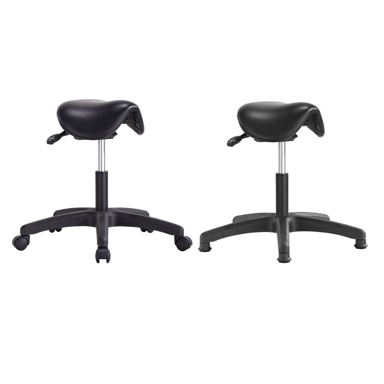 Tabouret assise basse type selle de cheval