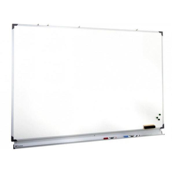 Tableau émaillé blanc semi-mat