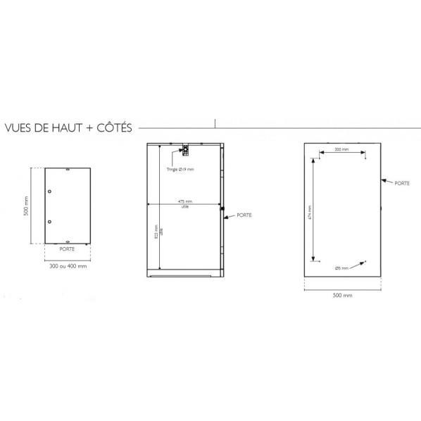 Vestiaire monobloc 1 case