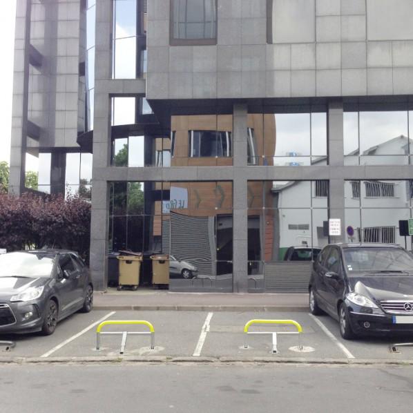 Arceau de parking mémoire de forme