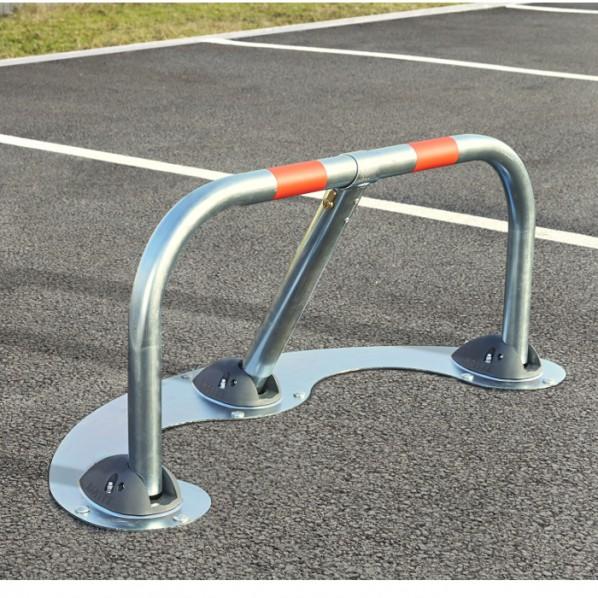 Barrière de parking spécial macadam