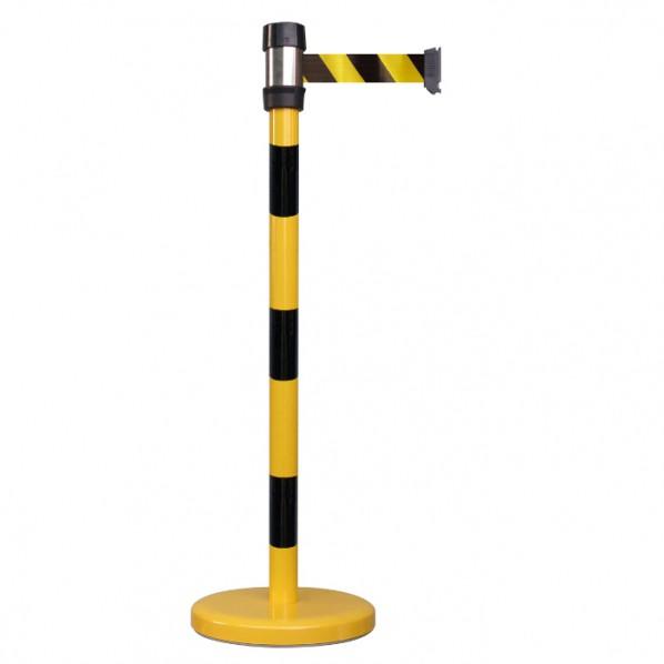 Poteau à sangle de sécurité 2 mètres