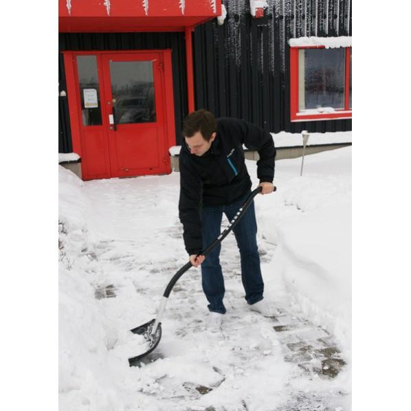 Pelle à neige ergonomique