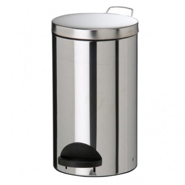 Poubelle métal à pédale - 20 litres