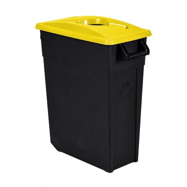 Poubelle de tri mobile 65 litres