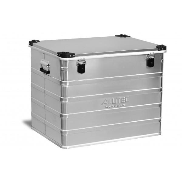 Malle aluminium avec coins - Superposable