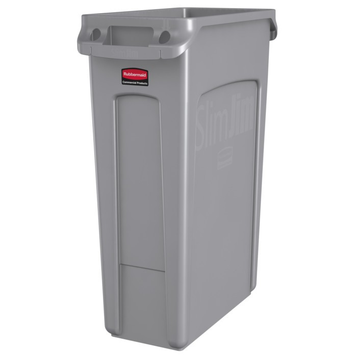 Collecteur Slim Jim Rubbermaid 87 litres