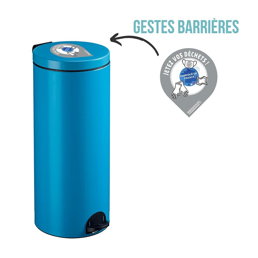 Poubelle SANELIA déchets sanitaires 30L - ROSSIGNOL