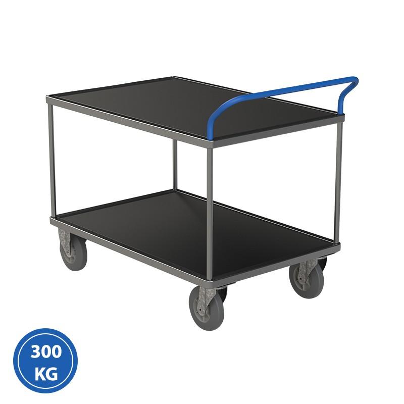 Servante 2 plateaux tôlés - 300 et 500 kg
