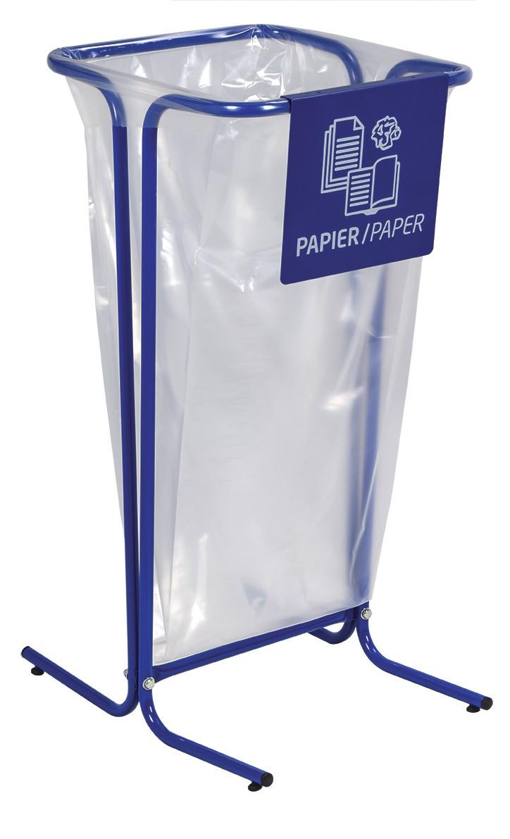 Plaque signalétique pour support sac TUBAG