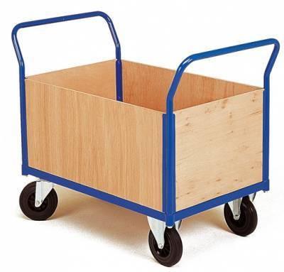 Chariot 4 côtés amovibles bois 900 x 560