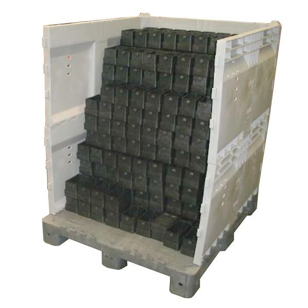 Caisse démontable Parois pleines 1000 x 1200 mm