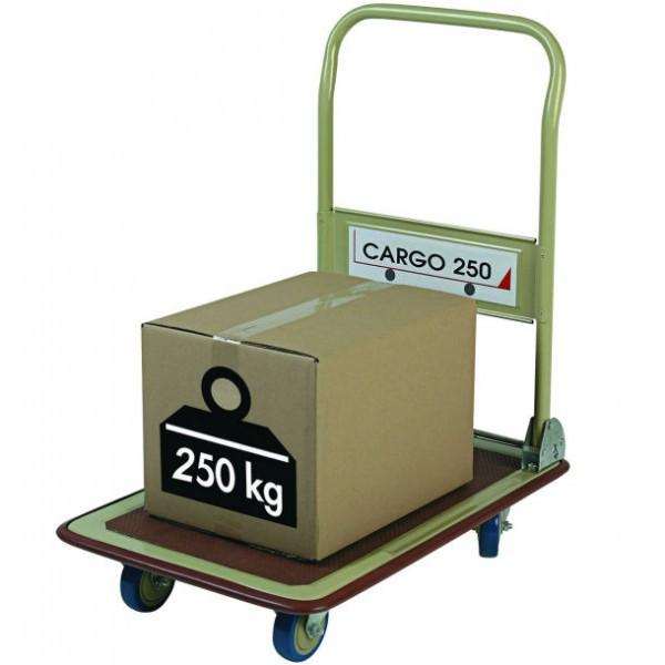 Chariot pliant économique cargo 250 kg
